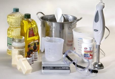 DIY Make Your Own Bar Soap, Part 1 Mixing | Sharing it Forward
